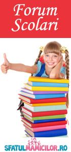 Forum despre scolari