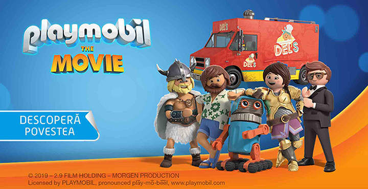 Jucariile din Playmobil: The movie continua aventura