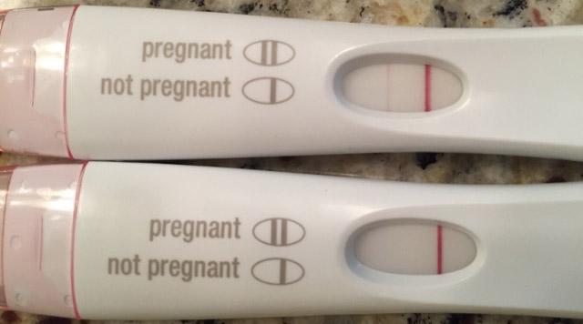 test de sarcina pozitiv sau negativ