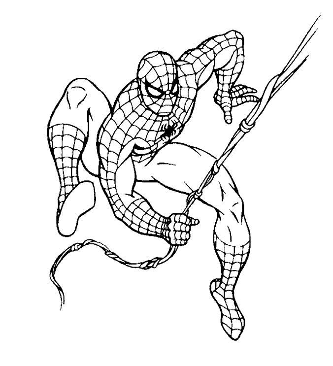 Planse De Colorat Cu Spiderman Sfatulmamicilorro