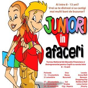 Juniori in afaceri - turneu national de educatie financiara
