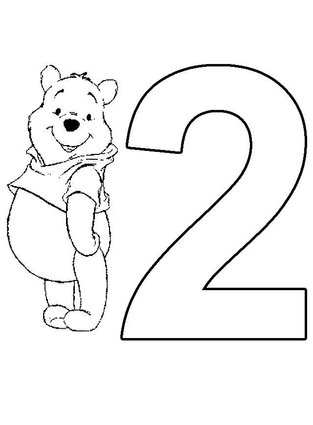 Planse De Colorat Cu Cifre Si Numere Sfatulmamicilorro