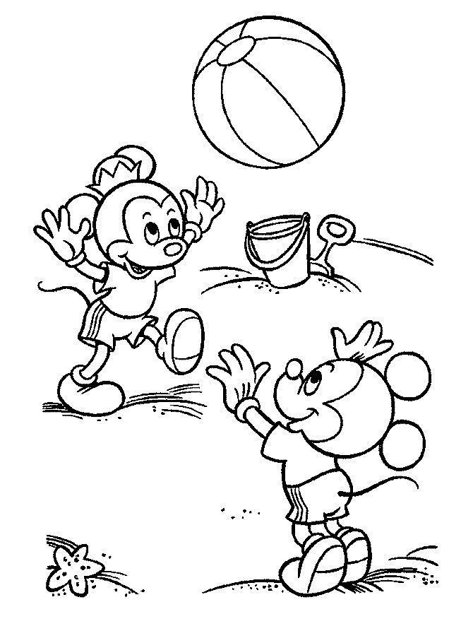 Copiii Mouse Se Joaca Plansa De Colorat Sfatulmamicilorro