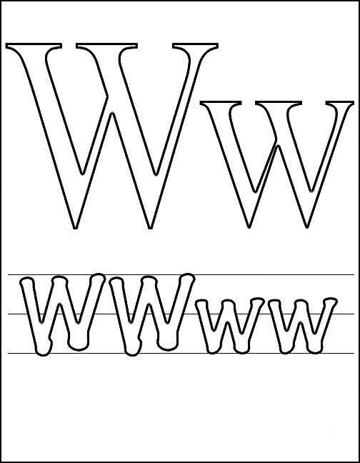 Litera X Plansa De Colorat Sfatulmamicilorro