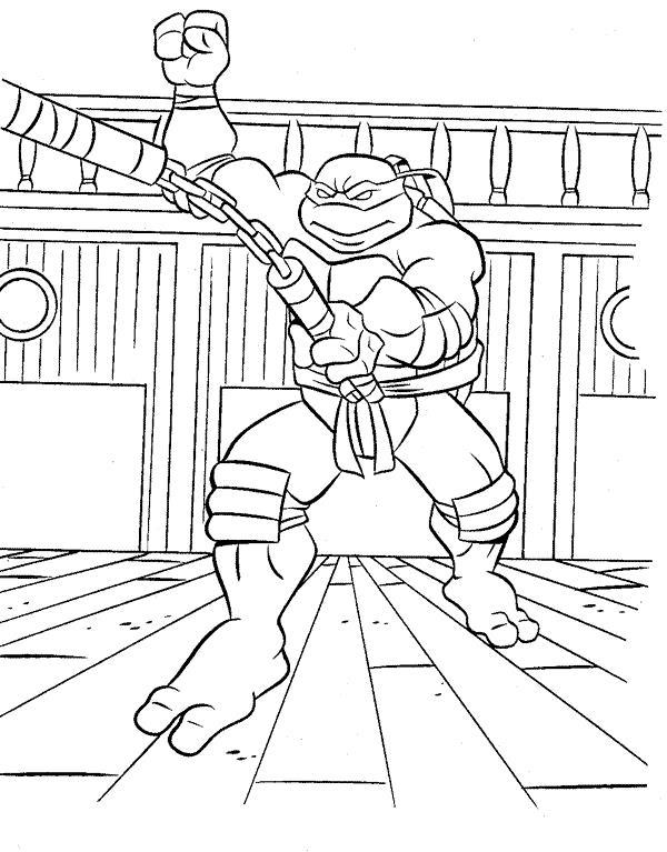 Testoasele Ninja Planse De Colorat Sfatulmamicilorro