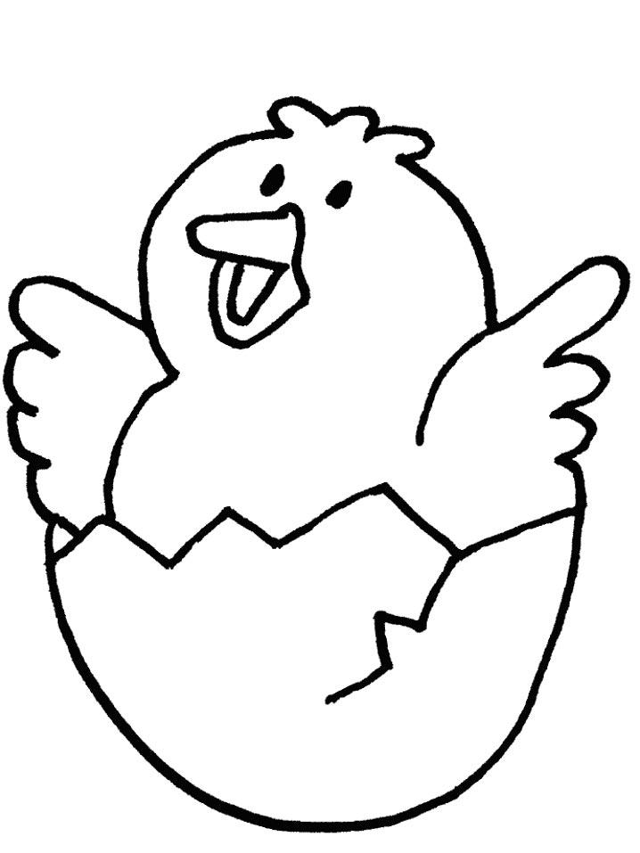 Puiut Iesind Din Ou Plansa De Colorat Sfatulmamicilorro
