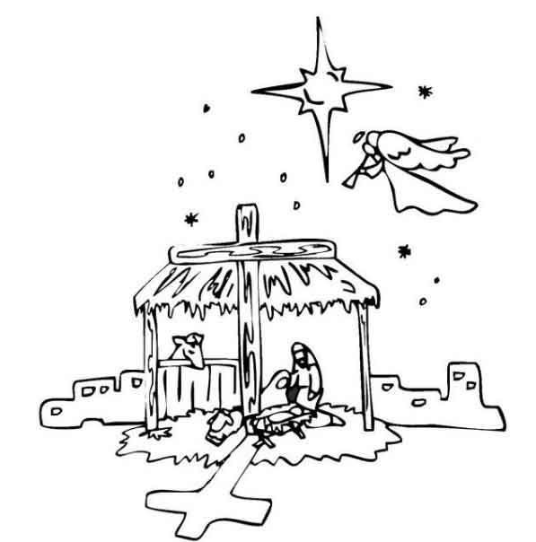Craciunul In Religie Plansa De Colorat Sfatulmamicilorro