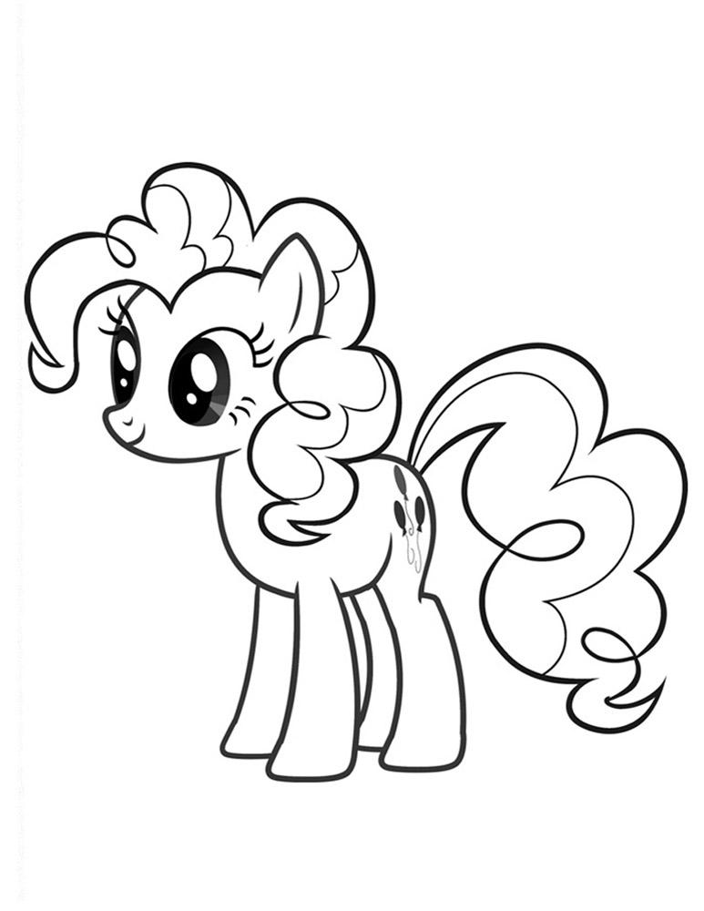 Pinkie Pie Plansa De Colorat Sfatulmamicilorro