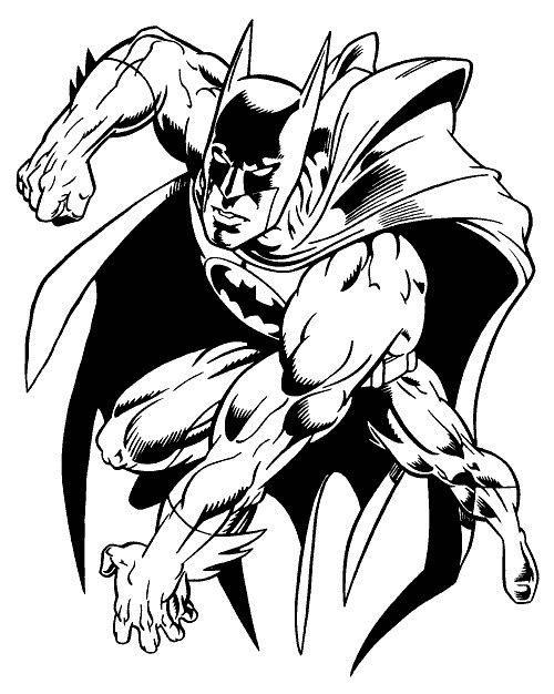 Batman La Atac Plansa De Colorat Sfatulmamicilorro