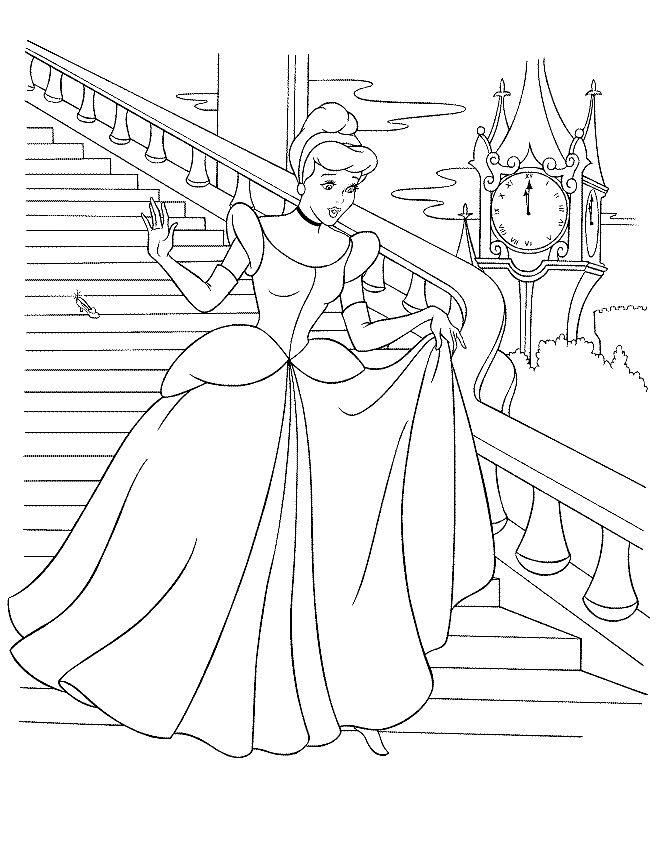 Printesa Jasmine Plansa De Colorat Sfatulmamicilorro