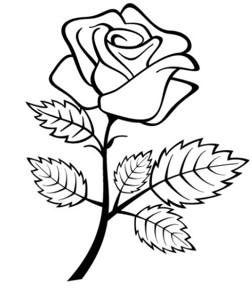 Flori Si Inimioare Plansa De Colorat Sfatulmamicilorro