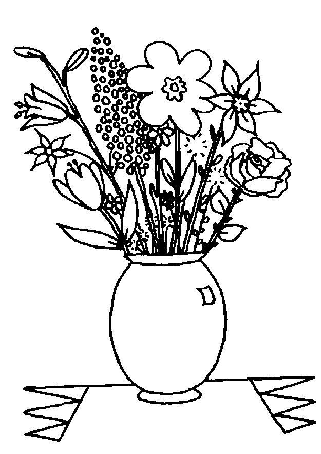Planse De Colorat Cu Flori Sfatulmamicilor Ro