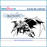 Batman - carte de colorat